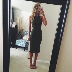Top Shop body con dress